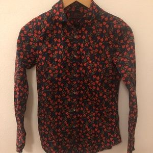 J. Crew Liberty of London Button Down